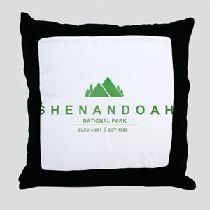 Shenandoah National Park, Virginia Throw Pillow